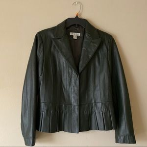 Coldwater Creek Suede Jacket 100% Leather